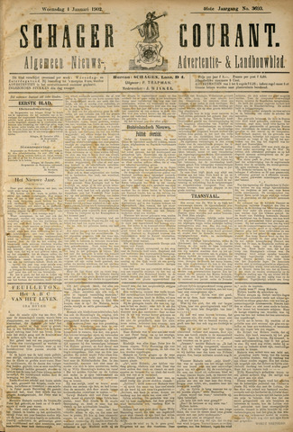 Schager Courant 1902