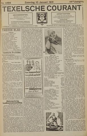 Texelsche Courant 1931-01-10