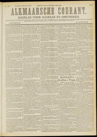 Alkmaarsche Courant 1919-10-11