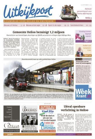 Uitkijkpost : nieuwsblad voor Heiloo e.o. 2010-09-22