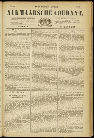 Alkmaarsche Courant 1882-01-27