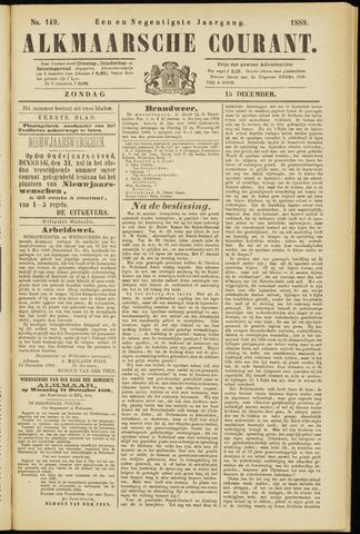Alkmaarsche Courant 1889-12-15
