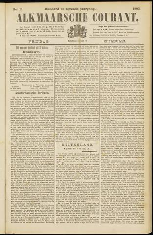 Alkmaarsche Courant 1905-01-27