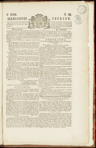 Alkmaarsche Courant 1850-10-28