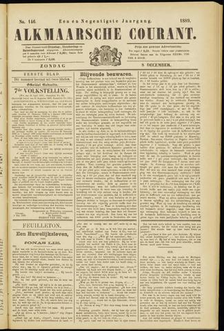 Alkmaarsche Courant 1889-12-08