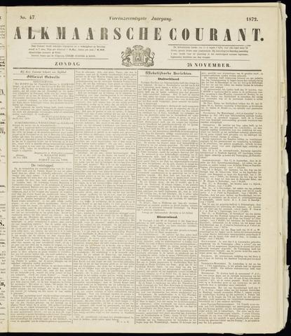 Alkmaarsche Courant 1872-11-24