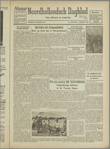 Nieuw Noordhollandsch Dagblad : voor Alkmaar en omgeving 1946-01-19