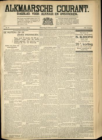 Alkmaarsche Courant 1933-02-11