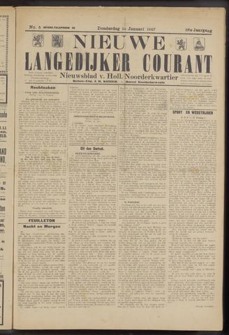 Nieuwe Langedijker Courant 1927-01-13