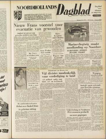 Noordhollands Dagblad : dagblad voor Alkmaar en omgeving 1954-05-18
