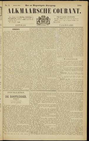 Alkmaarsche Courant 1894-01-07