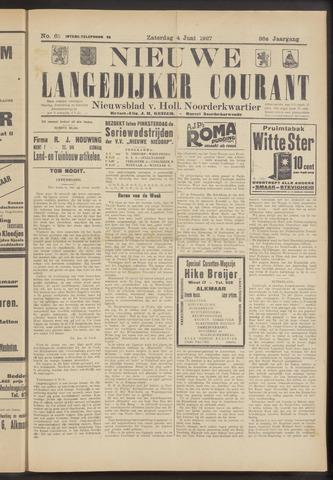 Nieuwe Langedijker Courant 1927-06-04