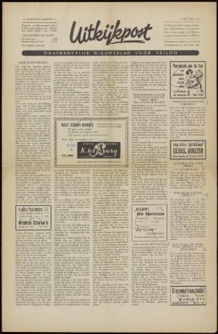 Uitkijkpost : nieuwsblad voor Heiloo e.o. 1958-10-10