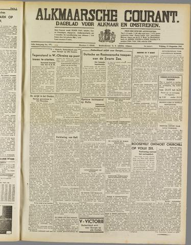 Alkmaarsche Courant 1941-08-15