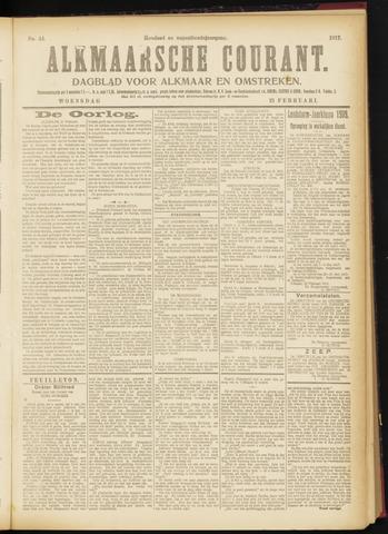 Alkmaarsche Courant 1917-02-21