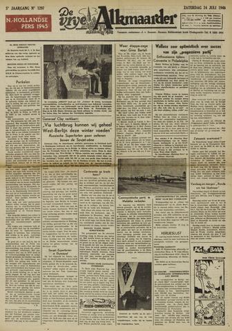 De Vrije Alkmaarder 1948-07-24