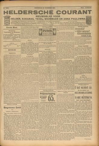 Heldersche Courant 1924-11-20