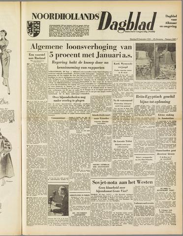 Noordhollands Dagblad : dagblad voor Alkmaar en omgeving 1953-09-29