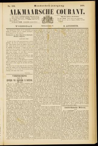 Alkmaarsche Courant 1898-08-31