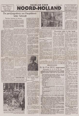 Dagblad Noord-Holland, Schager editie 1943-07-05