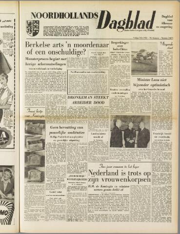 Noordhollands Dagblad : dagblad voor Alkmaar en omgeving 1954-05-07