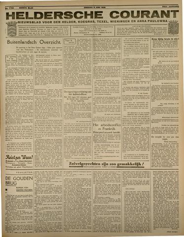 Heldersche Courant 1936-06-09