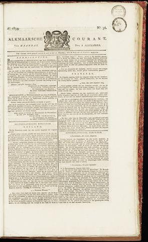 Alkmaarsche Courant 1834-09-08