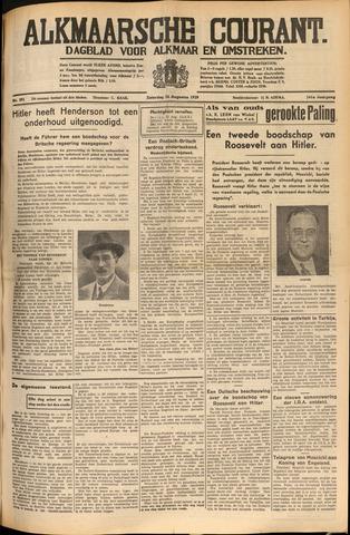 Alkmaarsche Courant 1939-08-26
