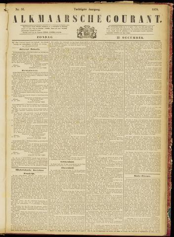 Alkmaarsche Courant 1878-12-22