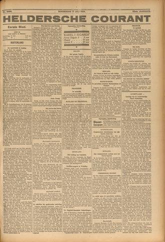 Heldersche Courant 1924-07-17