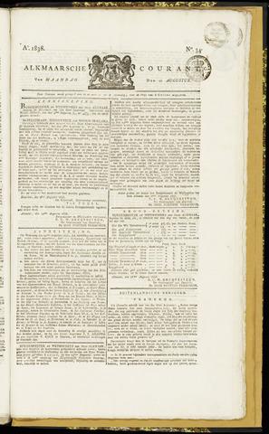 Alkmaarsche Courant 1838-08-20