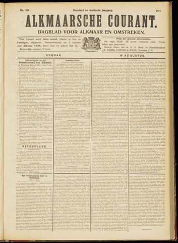 Alkmaarsche Courant 1911-08-18
