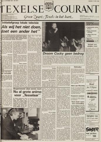 Texelsche Courant 1995-04-11