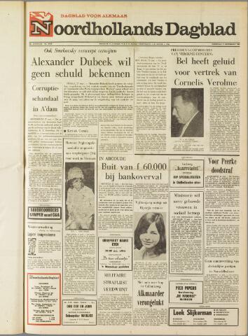 Noordhollands Dagblad : dagblad voor Alkmaar en omgeving 1969-09-27