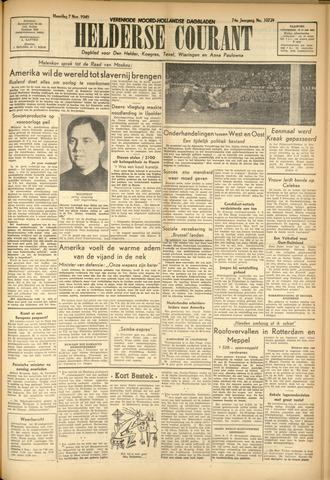 Heldersche Courant 1949-11-07