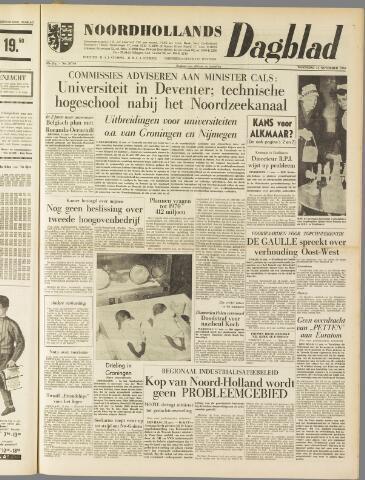 Noordhollands Dagblad : dagblad voor Alkmaar en omgeving 1959-11-11