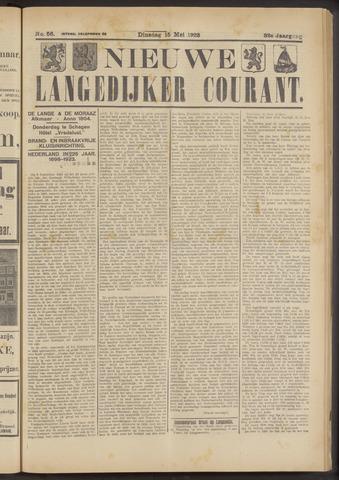 Nieuwe Langedijker Courant 1923-05-15