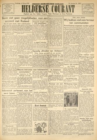 Heldersche Courant 1950-02-16