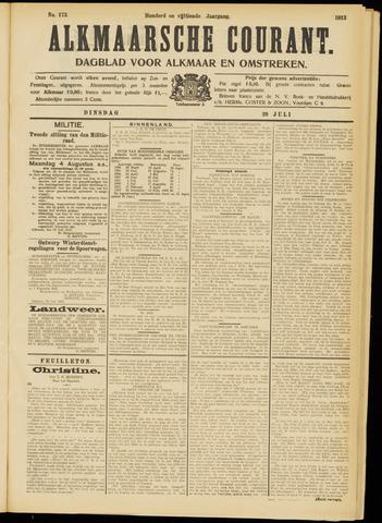 Alkmaarsche Courant 1913-07-29