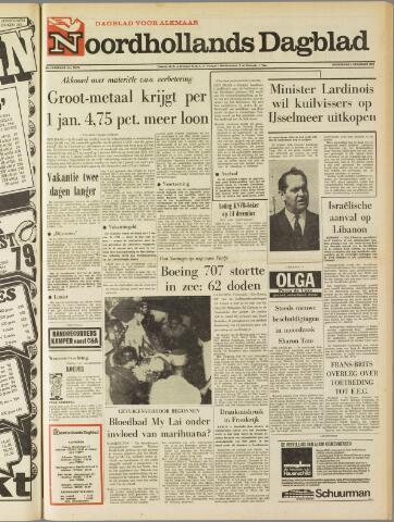 Noordhollands Dagblad : dagblad voor Alkmaar en omgeving 1969-12-04
