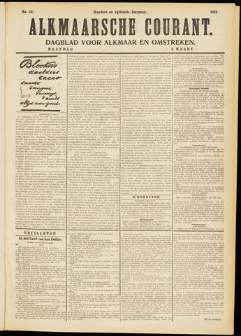 Alkmaarsche Courant 1913-03-03