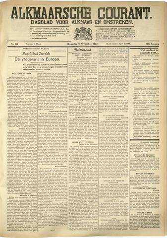 Alkmaarsche Courant 1933-11-06