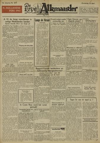 De Vrije Alkmaarder 1948-04-15
