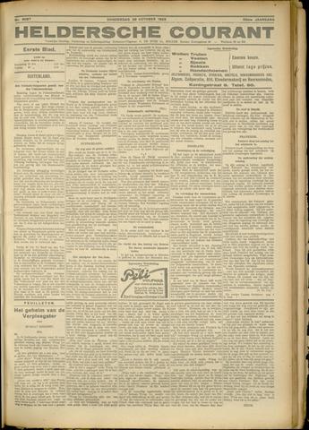 Heldersche Courant 1925-10-29