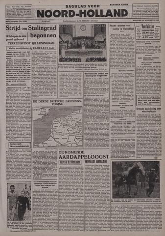 Dagblad Noord-Holland, Schager editie 1942-08-25