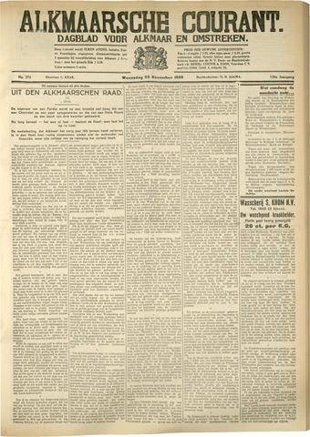 Alkmaarsche Courant 1933-11-22