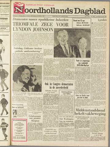 Noordhollands Dagblad : dagblad voor Alkmaar en omgeving 1964-11-04