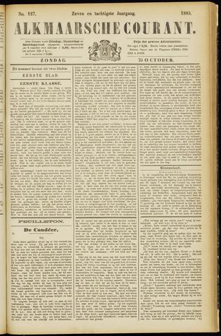 Alkmaarsche Courant 1885-10-25