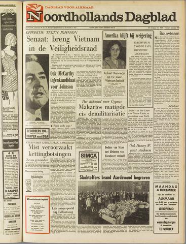 Noordhollands Dagblad : dagblad voor Alkmaar en omgeving 1967-12-01