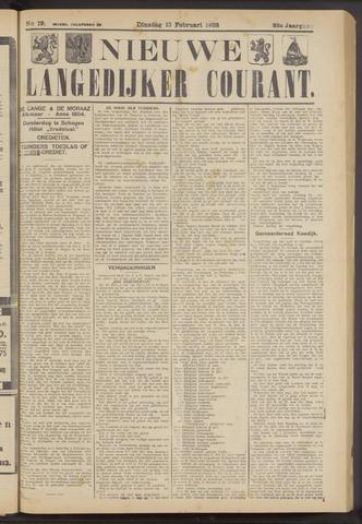 Nieuwe Langedijker Courant 1923-02-13